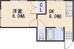庭瀬駅 1.9万円