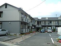 大阪府東大阪市菱江の賃貸アパートの外観