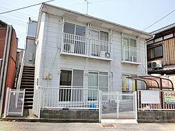 滋賀県草津市大路2丁目の賃貸アパートの外観