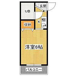 VIP大宅[3階]の間取り