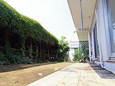 お庭47.99平米です。