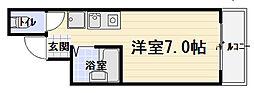 藤ビル[4階]の間取り