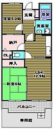 ロジェ長野[1階]の間取り