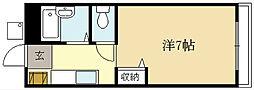 コージーハイツ[2階]の間取り