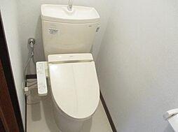 2ヵ所のトイレ...