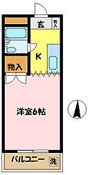 埼玉県さいたま市桜区大字白鍬の賃貸マンションの間取り