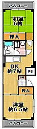 栄大正マンション[2階]の間取り