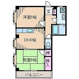 メゾン高橋[3階]の間取り