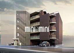 愛知県名古屋市千種区萱場2丁目の賃貸マンションの外観
