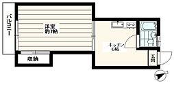 コーポ玉一[202号室]の外観
