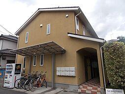 埼玉県草加市北谷3丁目の賃貸アパートの外観