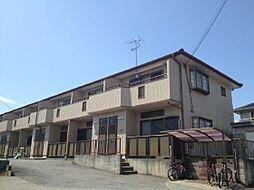 千葉県船橋市駿河台の賃貸アパートの外観
