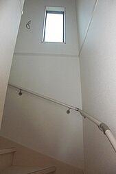手摺付の階段ス...