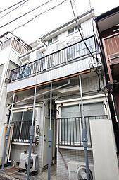 東京都世田谷区上用賀1丁目の賃貸アパートの外観