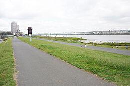 川原まで徒歩1分