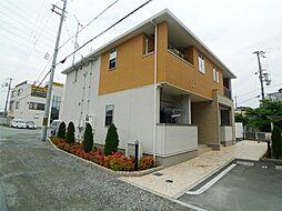 兵庫県高砂市中島2丁目の賃貸アパートの外観