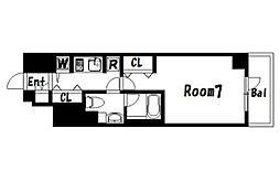 HYs SUMIDA PARK RESIDENCE[11階]の間取り
