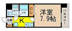 Mステージ栄[402号室]の間取り