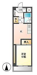 CASANOA鶴舞公園 II[8階]の間取り