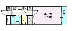 ジュブリーユ翔[1階]の間取り
