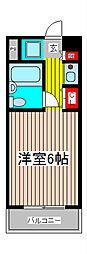 スカイコート西川口第7[5階]の間取り