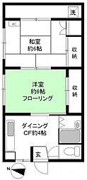 パークハウス[3階]の間取り