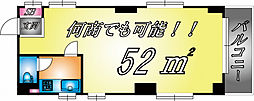 兵庫県神戸市中央区八雲通6丁目の賃貸マンションの間取り