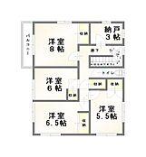 「2階間取り図」2階面積67.11m2