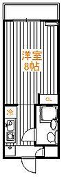 ライオンズマンション東新小岩[2階]の間取り