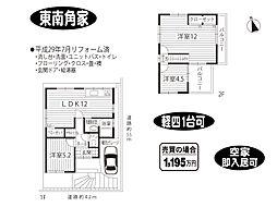[一戸建] 奈良県奈良市富雄北3丁目 の賃貸【/】の間取り