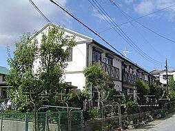 京都府城陽市富野池ノ内の賃貸アパートの外観