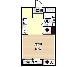 エクセルメゾン瀬田[212号室号室]の間取り