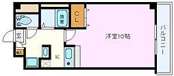 インプレイス鶴見緑地[701号室号室]の間取り