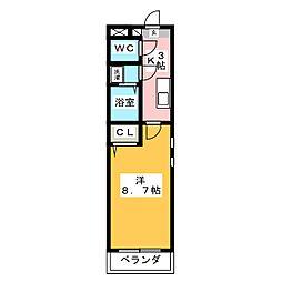 KeiII[1階]の間取り