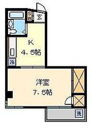 キャヴァン イワタ[3階]の間取り