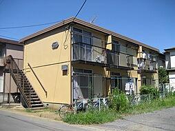 埼玉県草加市中央1丁目の賃貸アパートの外観