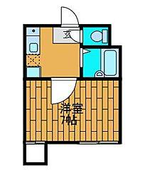 ロッシェル東淵野辺[2階]の間取り