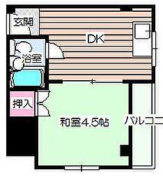 日新ビル[5階]の間取り