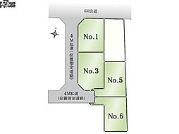 区画図 西東京...