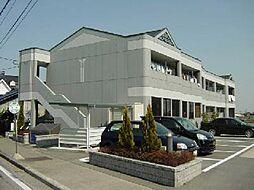 愛知県一宮市冨田字上本郷の賃貸アパートの外観