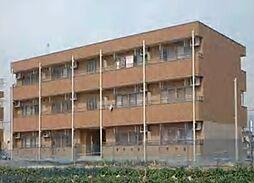 群馬県太田市大原町の賃貸アパートの外観