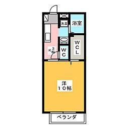 Cafeteria Wake III[1階]の間取り