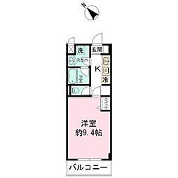 京成八幡WESTCOURT[307号室]の間取り