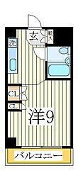 マンションニューシャイン[2階]の間取り
