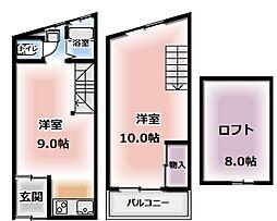 古川橋駅 5.5万円