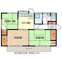 [一戸建] 長野県長野市稲田1丁目 の賃貸【/】の間取り