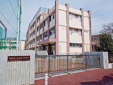 周辺環境-中学校(240m)板橋区立志村第三中学校