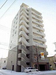 北海道札幌市中央区南九条西21丁目の賃貸マンションの外観