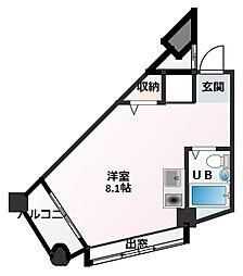 加古川ヤングパレス[2階]の間取り
