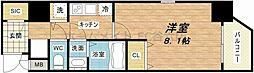大阪府大阪市中央区石町2丁目の賃貸マンションの間取り